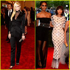 Jaime King & Ashley Madekwe - Met Ball 2013 Red Carpet