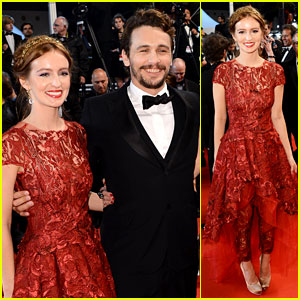 James Franco & Ahna O'Reilly: 'As I Lay Dying' Cannes Premiere!