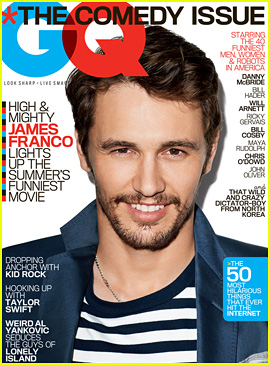 James Franco Covers 'GQ' Magazine's Comedy Issue June 2013!
