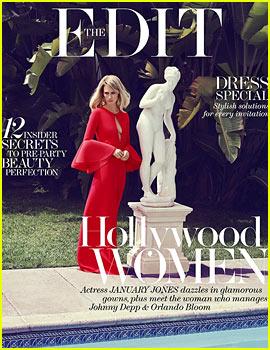 January Jones: Diane Kruger Inspires My Fashion