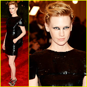 January Jones - Met Ball 2013 Red Carpet