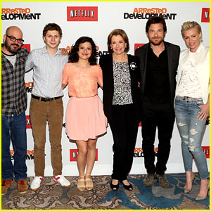 Jason Bateman & Portia de Rossi: 'Arrested Development' Press Conference!
