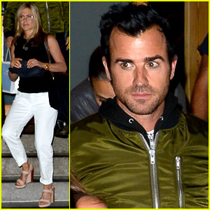 Jennifer Aniston: Glasses for Nobu Date Night with Justin Theroux