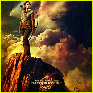 Jennifer Lawrence: 'Hunger Games Catching Fire' Poster!