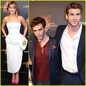 Jennifer Lawrence & Liam Hemsworth Almost Catch Fire in Cannes - Literally!