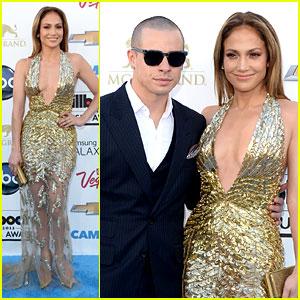 Jennifer Lopez: Billboard Music Awards 2013 with Casper Smart!