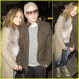 Jennifer Lopez & Casper Smart Hold Hands After 'Britain's Got Talent'!