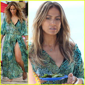 Jennifer Lopez: 'Live It Up' Music Video Set with Pitbull!