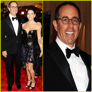 Jerry Seinfeld: Met Ball 2013 Red Carpet with Wife Jessica!