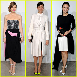 Jessica Biel & Marion Cotillard: Dior Cruise Collection Show!