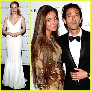 Jessica Chastain: 'Cleopatra' Cocktail Party!