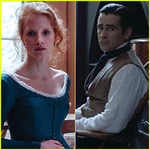 Jessica Chastain & Colin Farrell in 'Miss Julie' - First Look Pics!