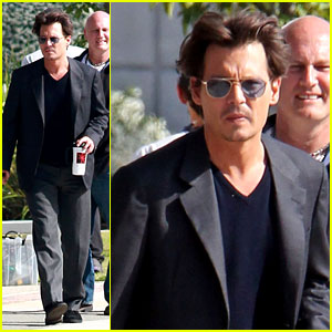Johnny Depp: 'Transcendence' Coffee Break