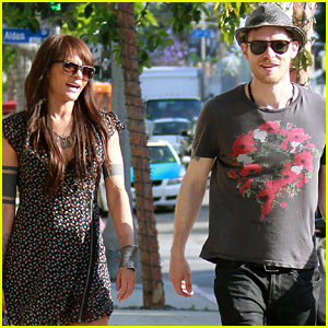 Joseph Morgan & Persia White Shop in West Hollywood!