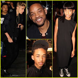 Justin Bieber: 'After Earth' with the Smiths!