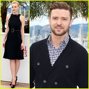 Justin Timberlake & Carey Mulligan: 'Inside Llewyn Davis' Cannes Photo Call
