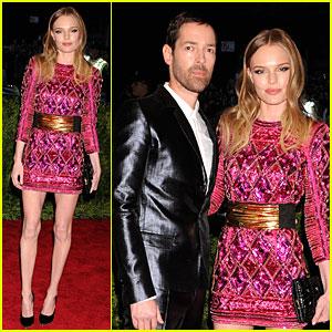 Kate Bosworth & Michael Polish - Met Ball 2013 Red Carpet