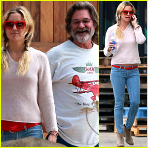 Kate Hudson: Winery Visit with Kurt Russell & Matthew Bellamy!