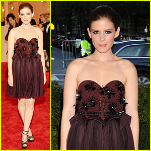 Kate Mara - Met Ball 2013 Red Carpet
