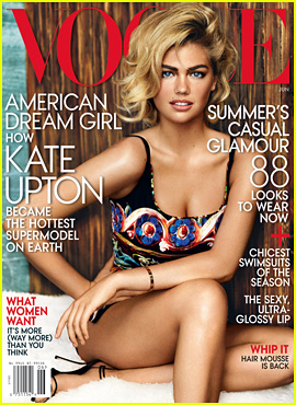 Kate Upton Covers 'Vogue' June 2013