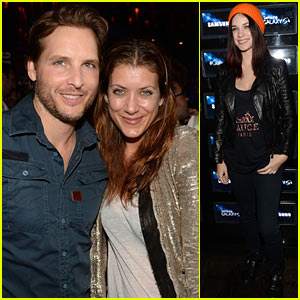 Kate Walsh & Peter Facinelli: Samsung Galaxy S 4 Launch!