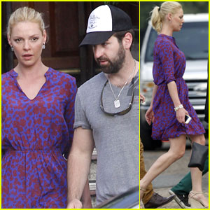 Katherine Heigl Lunches With Josh Kelley After Wrapping 'North of Hell'