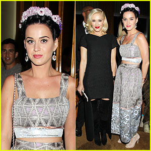 Katy Perry & Gwen Stefani: Pre-Met 'Great Gatsby' After Party!
