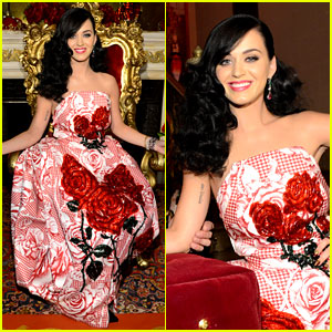 Katy Perry is the 'Killer Queen' at Third Fragrance Unveiling!