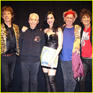 Katy Perry: Rolling Stones Concert Surprise Guest (Video)