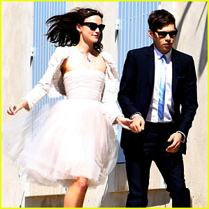 Keira Knightley: Wedding Photo with James Righton!