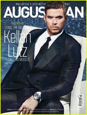 Kellan Lutz Covers 'August Man Malaysia' June 2013 (Exclusive)