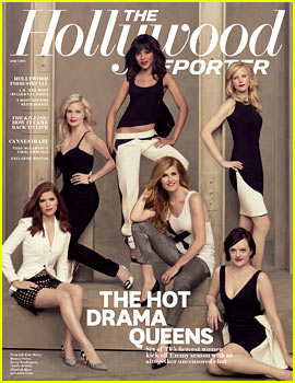 Kerry Washington & Kate Mara Cover 'THR' Drama Actresses Issue