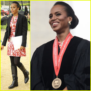 Kerry Washington Receives George Washington University Honorary Degree