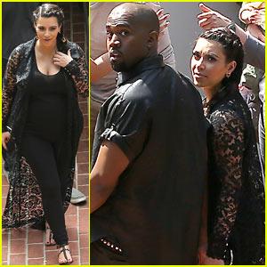 Kim Kardashian & Kanye West: House Hunting in Beverly Hills?