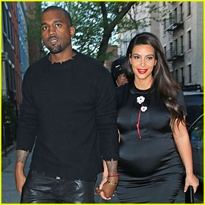 Kim Kardashian: Pregnant Date Night with Kanye West!