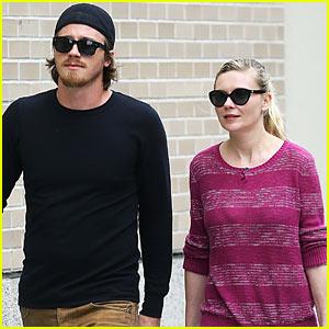 Kirsten Dunst & Garrett Hedlund Stroll Soho After Cannes
