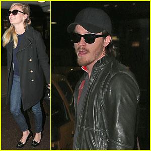 Kirsten Dunst & Garrett Hedlund: JFK Arrival After Cannes!