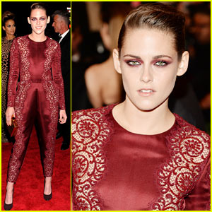 Kristen Stewart - Met Ball 2013 Red Carpet