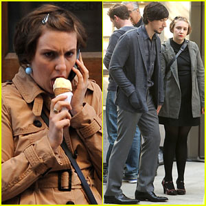 Lena Dunham: 'Girls' Filming After 27th Birthday!