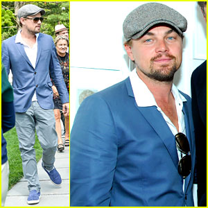 Leonardo DiCaprio: Brant Foundation Exhibit Opening