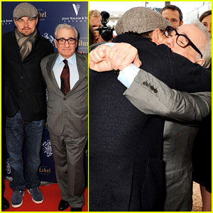 Leonardo DiCaprio & Martin Scorsese: Big Hug at Cannes!