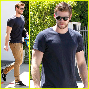 Liam Hemsworth Steps Out After Miley Cyrus Split Rumors
