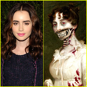 Lily Collins: 'Pride Prejudice & Zombies' as Elizabeth Bennet?