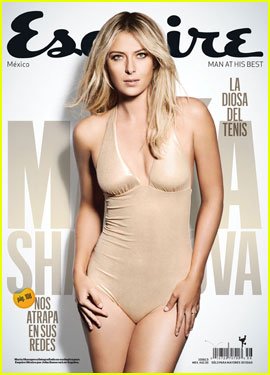 Maria Sharapova Covers 'Esquire Latin America' May 2013