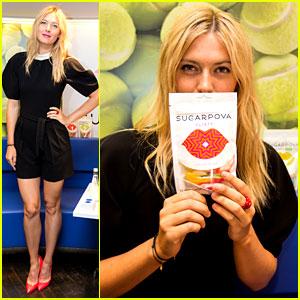 Maria Sharapova: Sugarpova Launch in France!