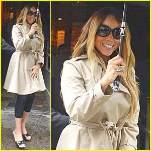 Mariah Carey Battles Rainy Bubby's Lunch!