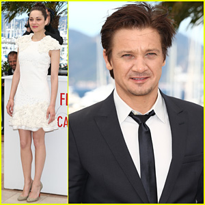 Marion Cotillard & Jeremy Renner: Cannes 'The Immigrant' Photo Call