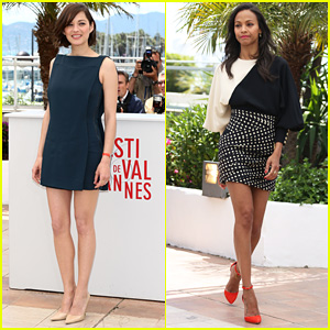 Marion Cotillard & Zoe Saldana: 'Blood Ties' Cannes Photo Call!