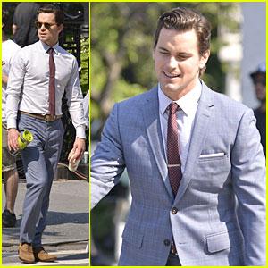 Matt Bomer  White Collar  White Collar Show Suit