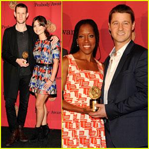 Matt Smith & Ben McKenzie: Peabody Award Winners!